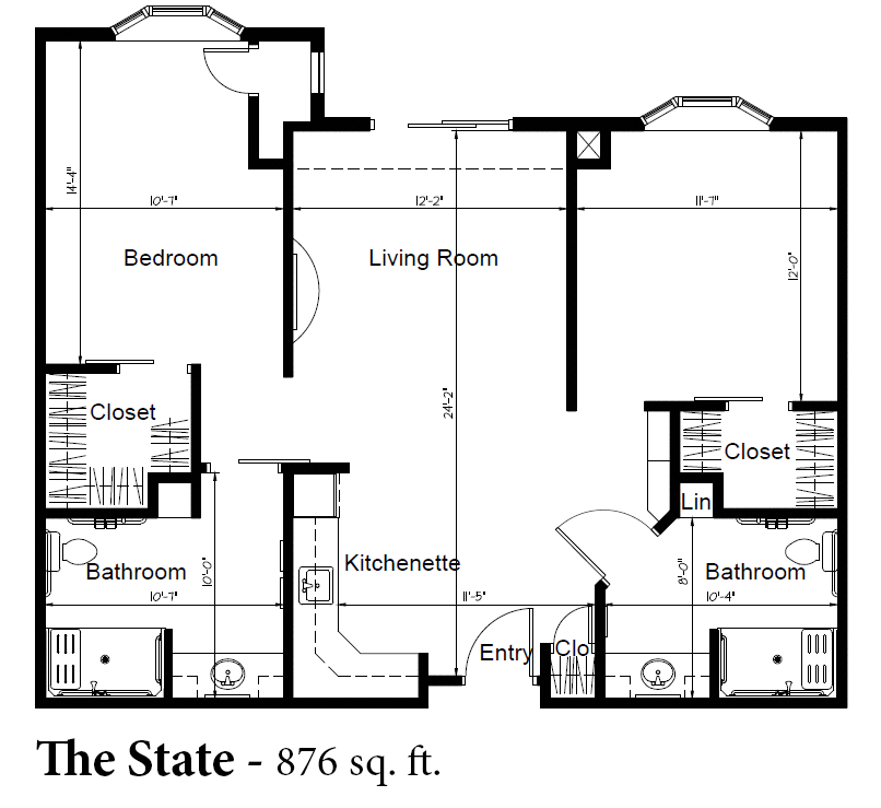 The State Apartment New Hope Bay Assisted Living Community